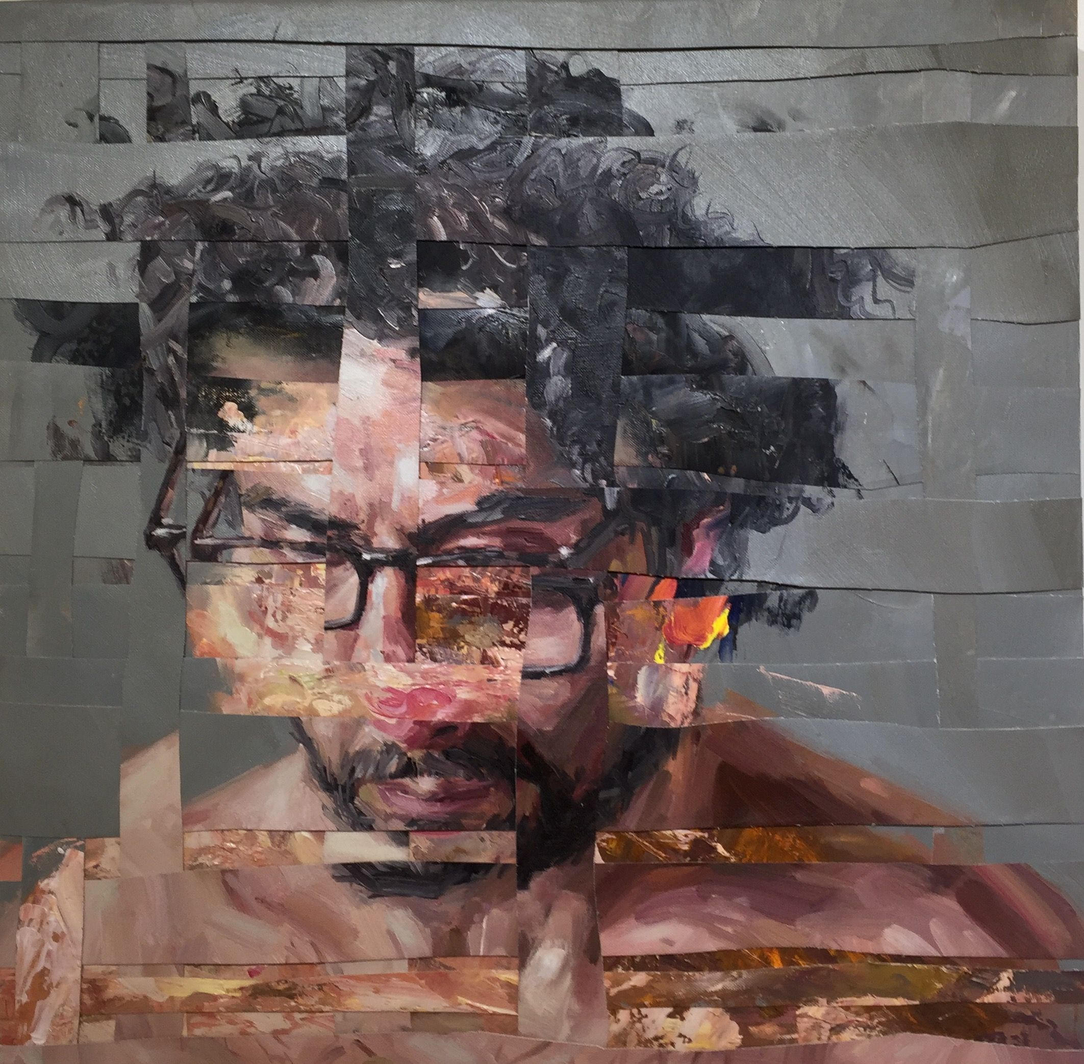 ADAM LUPTON | Psycho Analysis Composition IV | Art, Painting, A ...