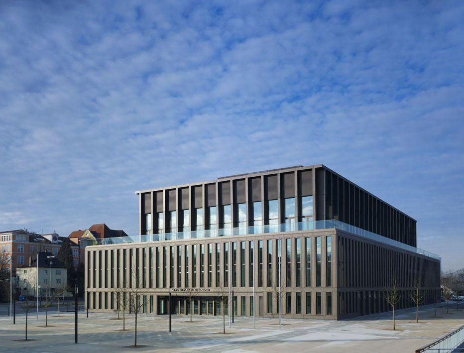 Architekten Reutlingen Umgebung krone aus baubronze stadthalle in reutlingen max dudler