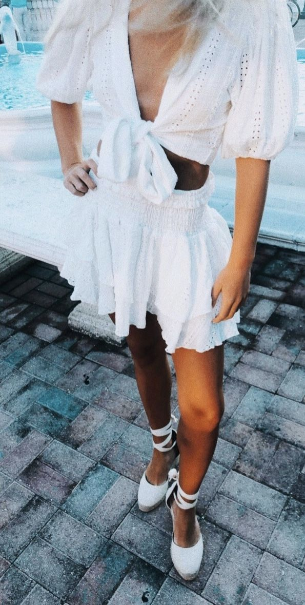 Photo of Sommernacht-Outfit pinterest: Cait McElwee ☆ – ☆ SOMMER-OUTFITS ☆