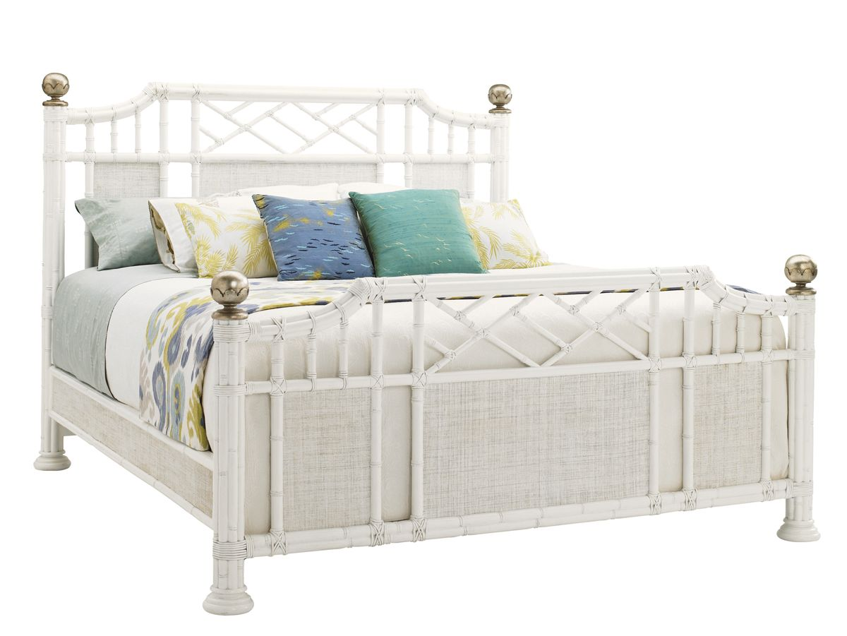 astounding tommy bahama bedroom furniture white | Tropical White Bed: Tommy Bahama Bedroom Furniture from ...