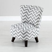 Totally ridiculous but ridiculously cute! Kids Chairs: Grey Chevron Mini Chair in Kid Chairs | The Land of Nod