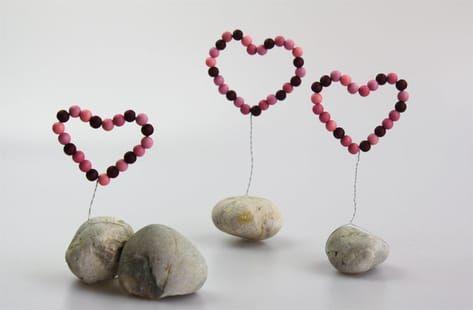 Photo of Machen Sie einfach große dekorative Herzen für Ihr eigenes Zuhause! In dieser Anleitung …