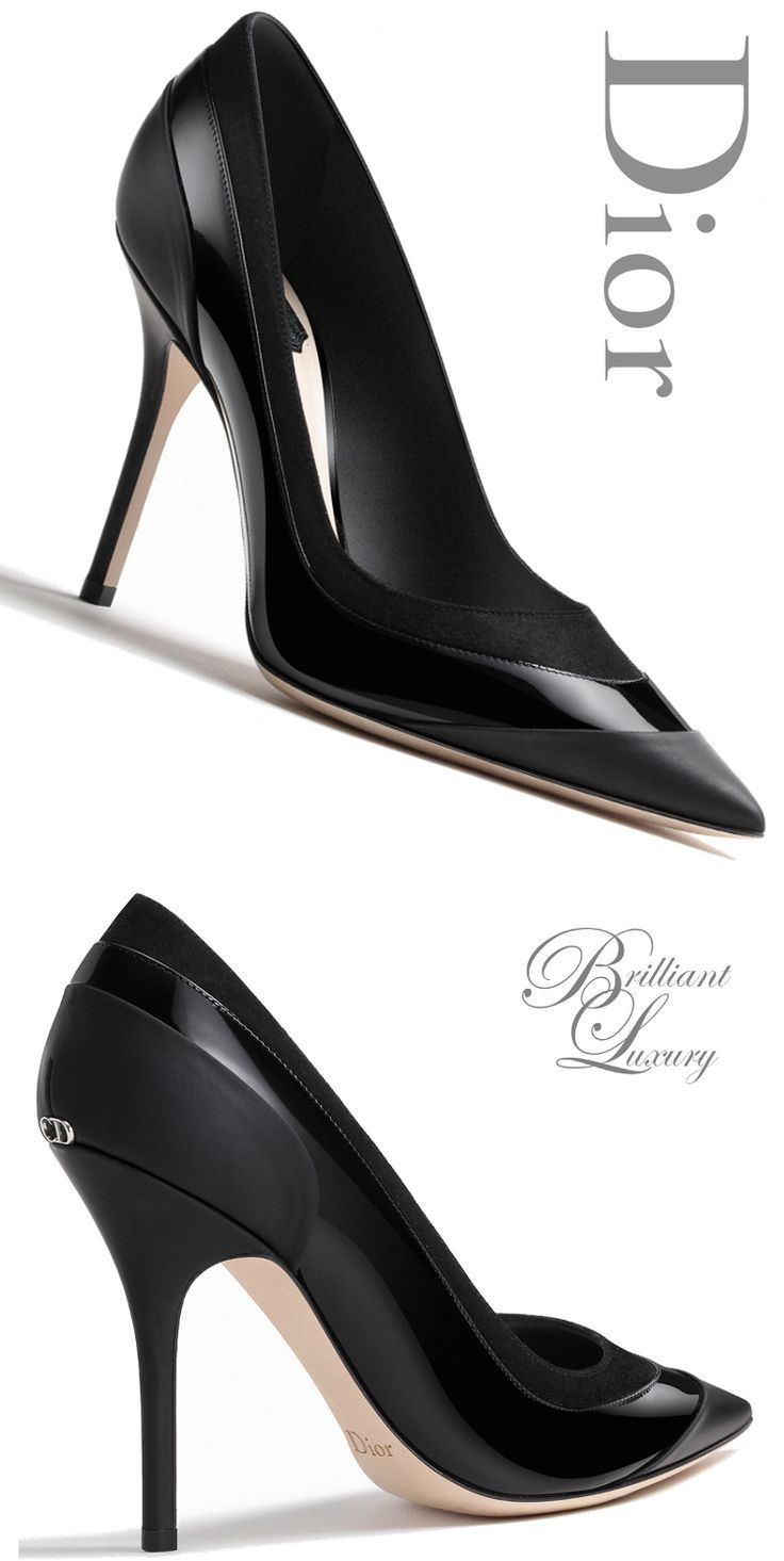 Tendance chausseurs   Brilliant Luxury Dior Pump Fall 2015-16 ... 4172df47653