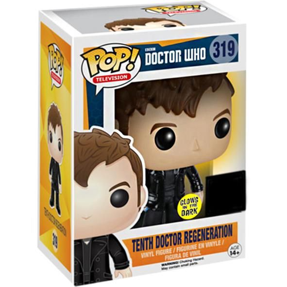 Funko Pop 10th Doctor Regeneration Glow In The Dark 319 Funko Pop By Funko Funko Pop Gaming Merch