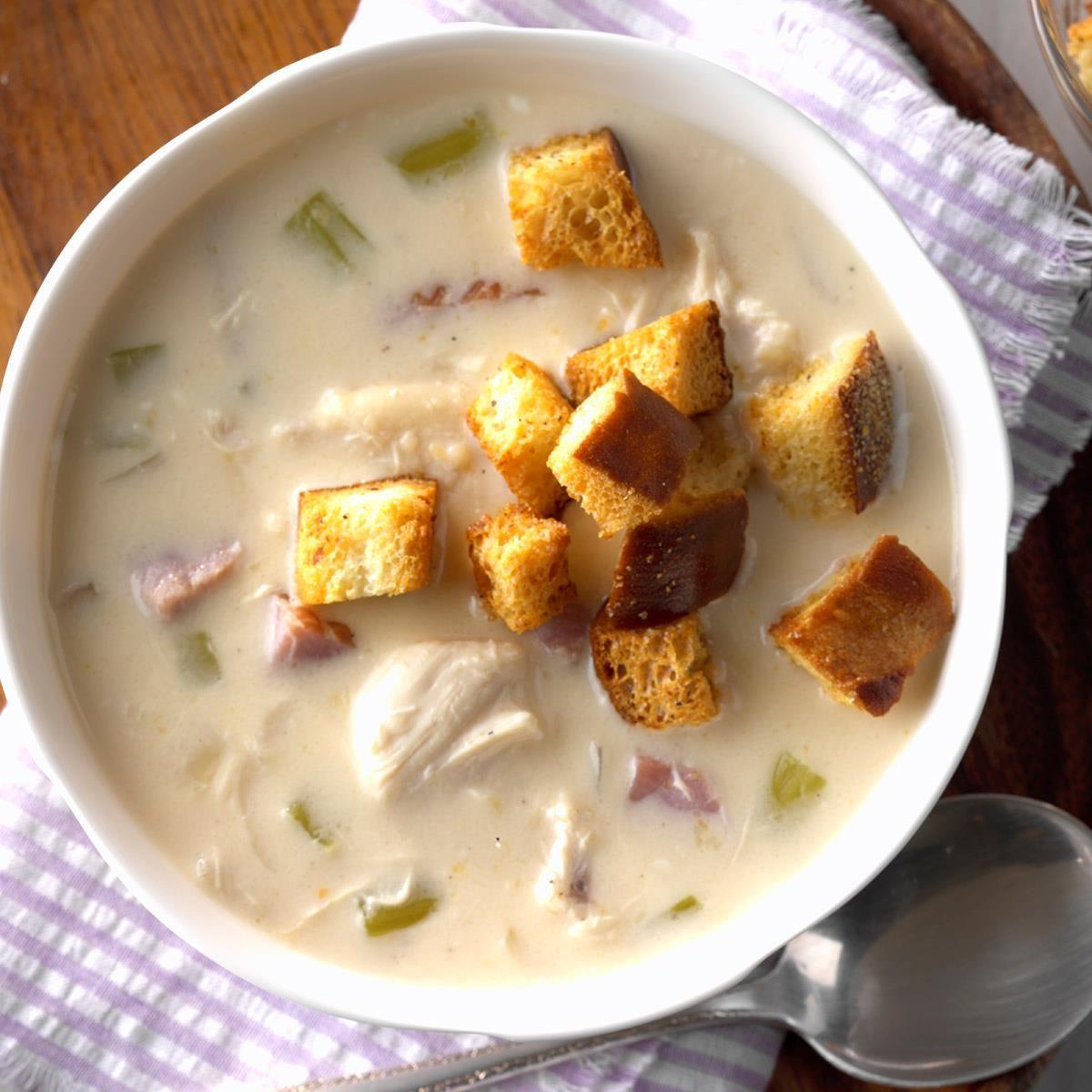 Slow-Cooker Cordon Bleu Soup