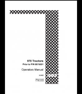 Best case ih 970 tractor operators manual download