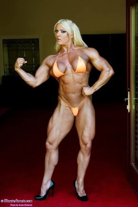from Canaan female muscle angel nude