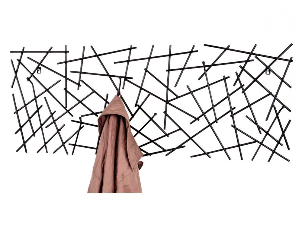 Mikele Wandgarderobe Garderobenleiste Hakenleiste Wandhaken Metall Anthrazit In Mobel Wohnen Klein Hangeau Wandgarderobe Garderobenhaken Garderobenpaneel
