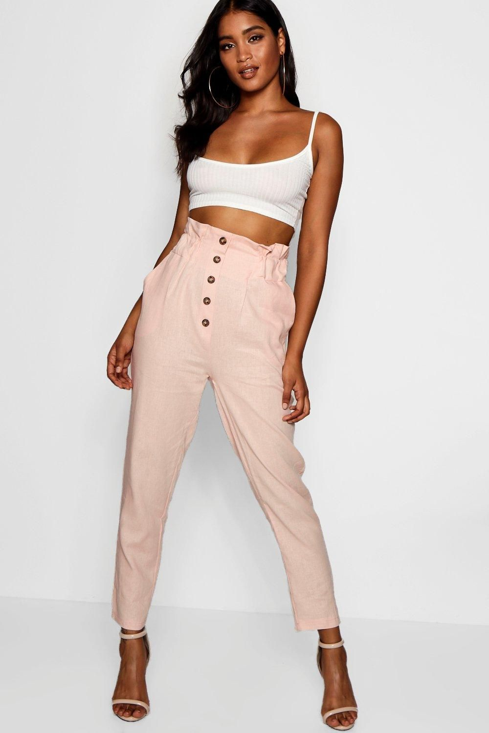 71b7c176fbcf Click here to find out about the Paperbag Waist Trousers from Boohoo, part  of our latest Pants collection ready to shop online today!