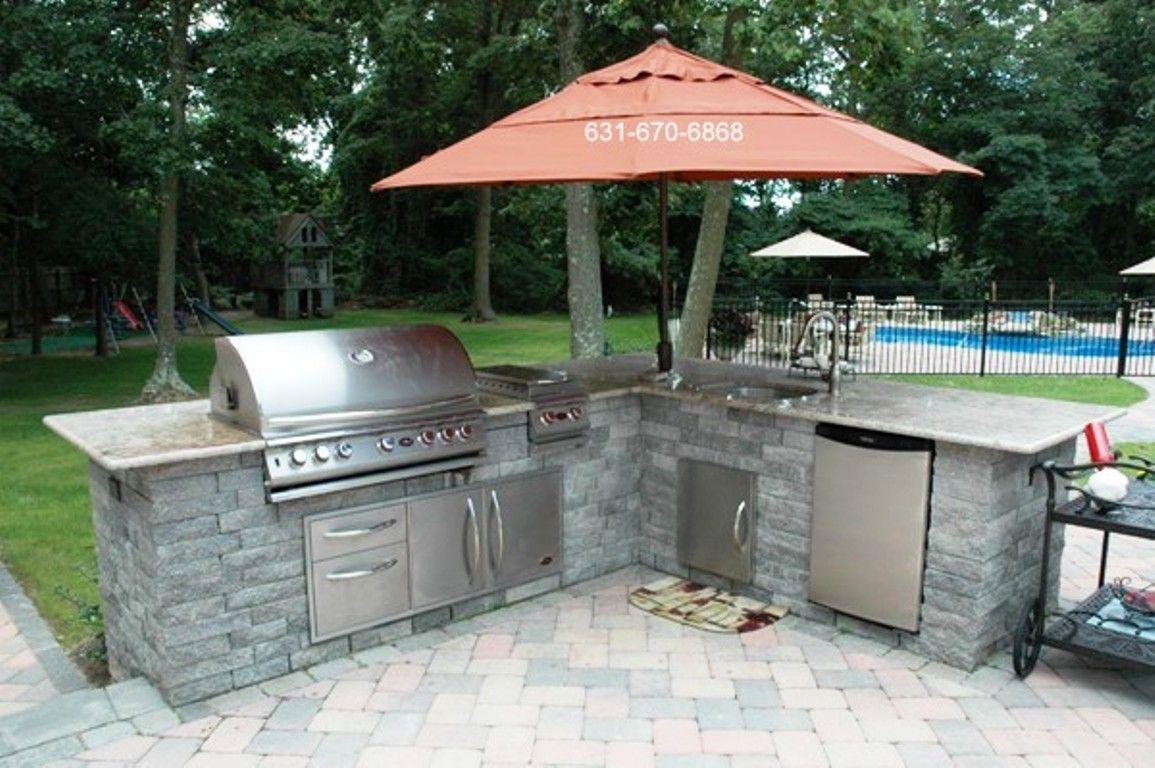 outdoor kitchen cart tile backsplash islands portable lusardi pinterest