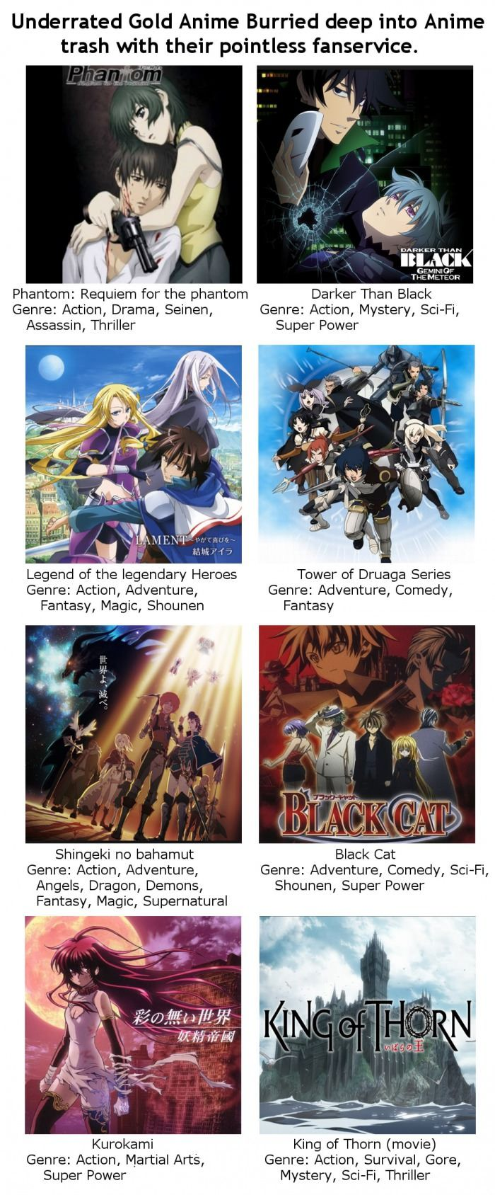 Not all Anime are shit... At least 30 Anime films