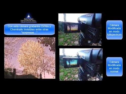 Como gravar UFOS invisíveis e Chemtrails Modificando Câmeras de Vídeo Antigas