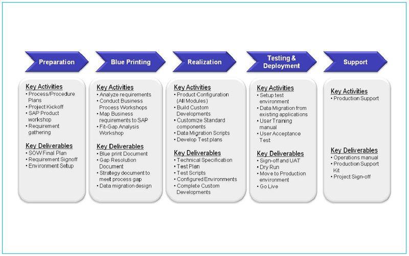 Program Management Process Templates Sap Implementation How To