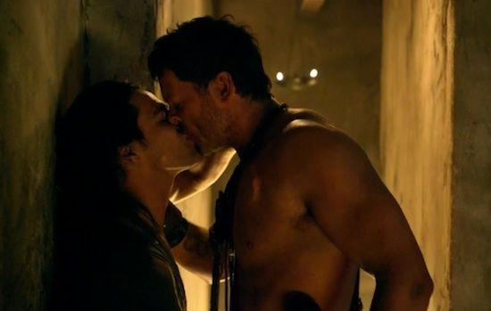 More Agron Nasir Action On Spartacus Vengeance Espartaco Fotos