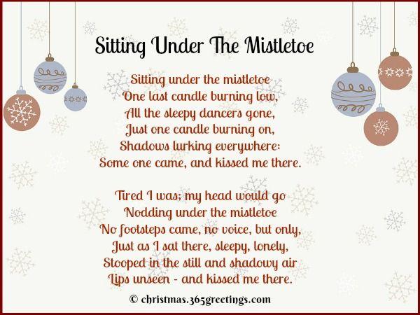 Christmas Poems Short 6