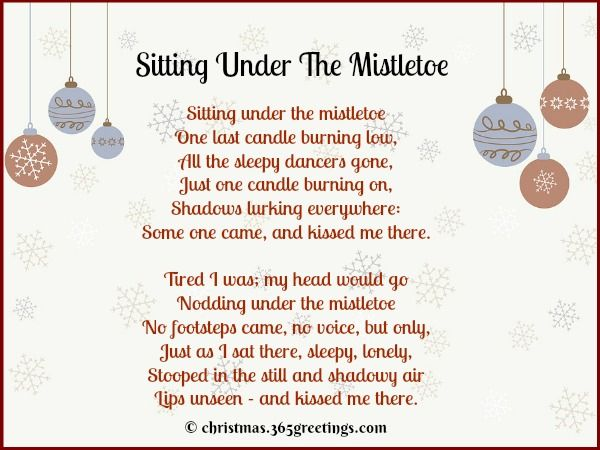 Christmas Poems Short 6