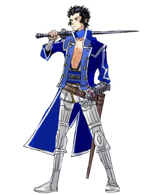Walter From Shin Megami Tensei Iv Before His Fusion Dance With Lucifer Shin Megami Tensei Shin Megami Tensei Iv Cool Drawings