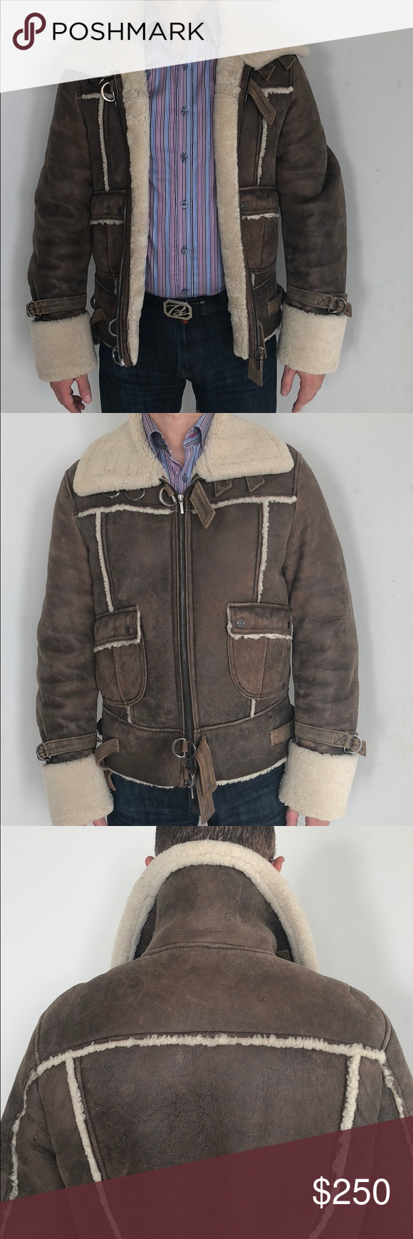 Ice J Iceberg Sheepskin Winter Jacket In Wonderful Condition Fits Great On Medium 48 And Large 50 Sizes Purchased F Winter Jackets Clothes Design Jackets [ 1740 x 580 Pixel ]