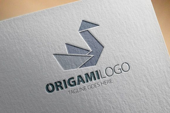 Check out Origami Logo by samedia on Creative Market