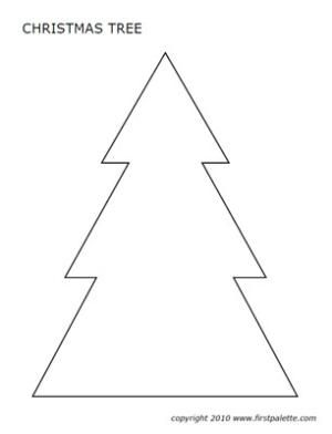 christmas tree pattern printable - Google Search | Xmas Clay Tree ...