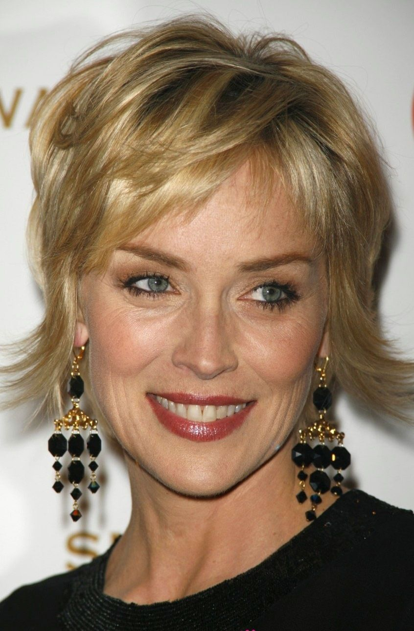 sharon stone earrings #vintage | gorgeous-women | sharon