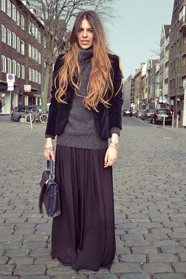 Zara Omglongmaxidress Where Is Summer Please ?!, Hugo Boss Velvetblazer