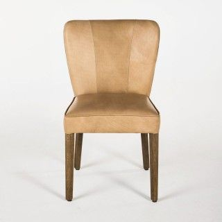 Dining Chair Four Side Chairs Jacob Leather Fabric Ermilk