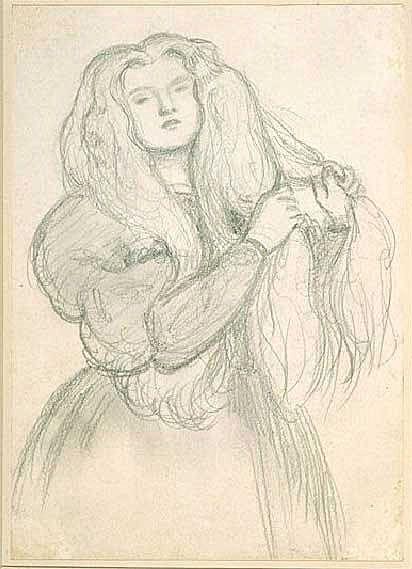 Rossetti Dante Gabriel, Annie Miller