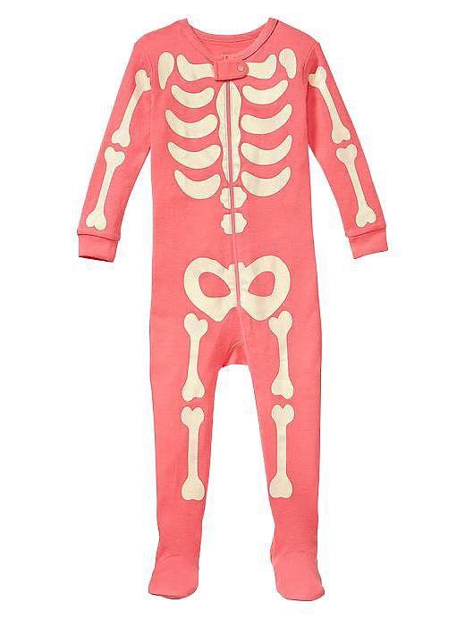 easy halloween costumes for babies gaps skeleton pajamas