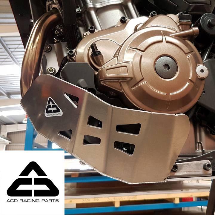 Honda africa twin crf 1000 skid plate aluminum engine