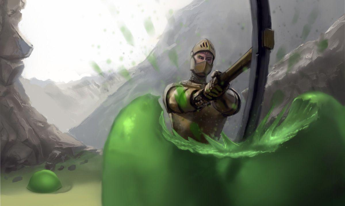 Slimesterraria art Terrarium, Game art, Game character