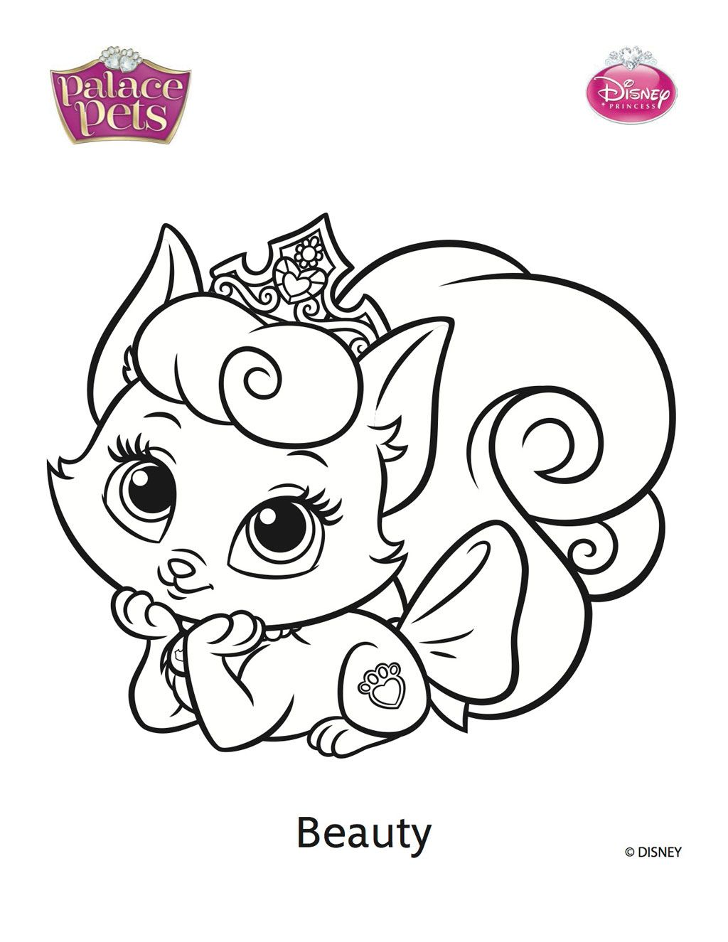 Beauty Palace Pets Coloring Pages Printable Coloring Pages High