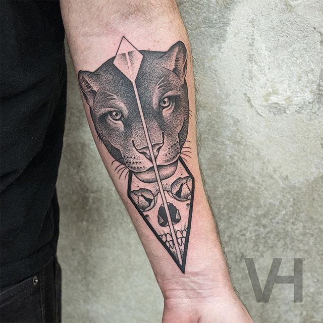 31b16e6f4ff3fae89df46c92302a7286 Black Panther Tattoo Men Tattoo
