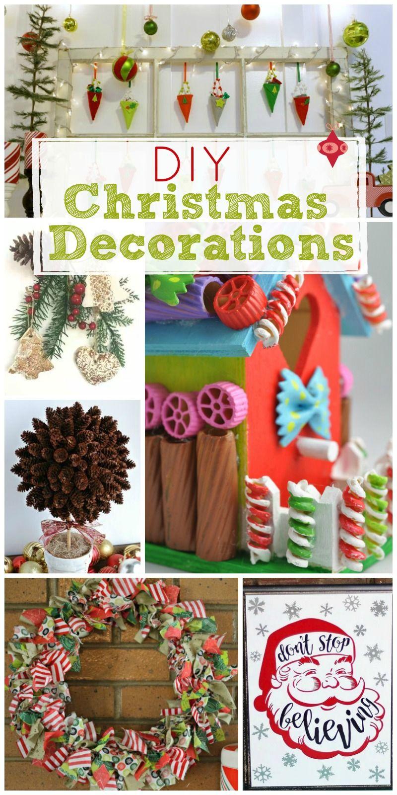 Diy Christmas Decorations Christmas Decor Diy Easy Christmas Diy Unique Christmas Decorations