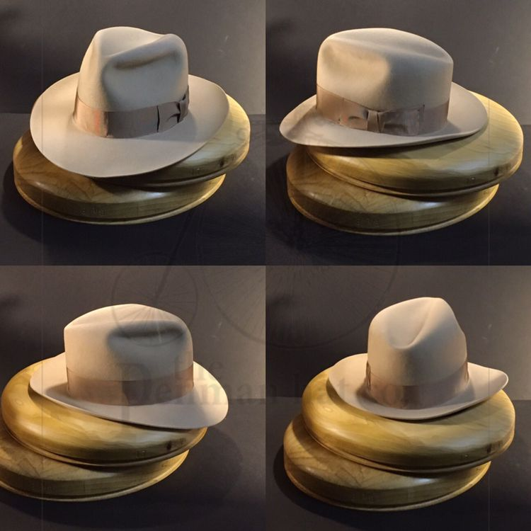 eb78383d3 Just finished this bespoke fedora with vintage grosgrain ribbon ...