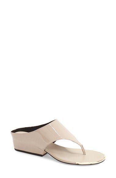 60f811bd40 CALVIN KLEIN 'Ciara' Wedge Sandal (Women). #calvinklein #shoes #sandals