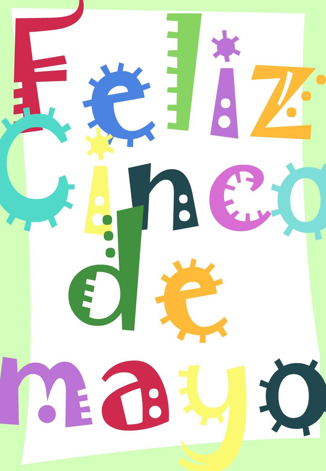 Free Printable Feliz Cinco De Mayo Greeting Card