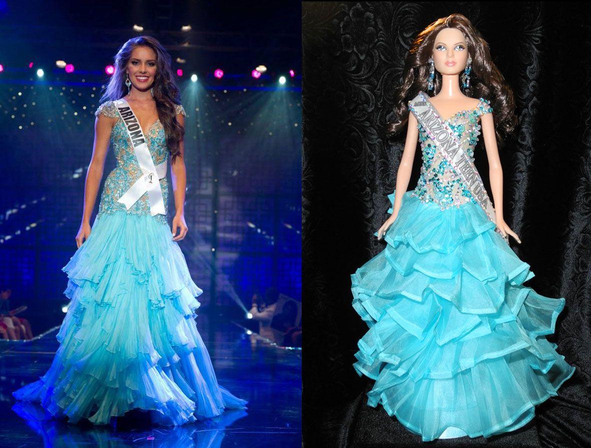 Olivia Argue, Miss Arizona Teen USA 2013! Custom look a like doll ...