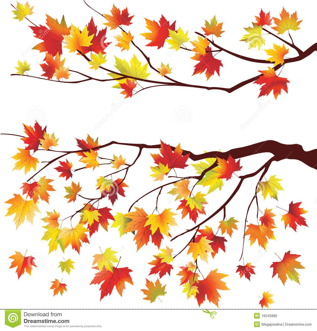 clip art of tree with falling leaves - photo #49