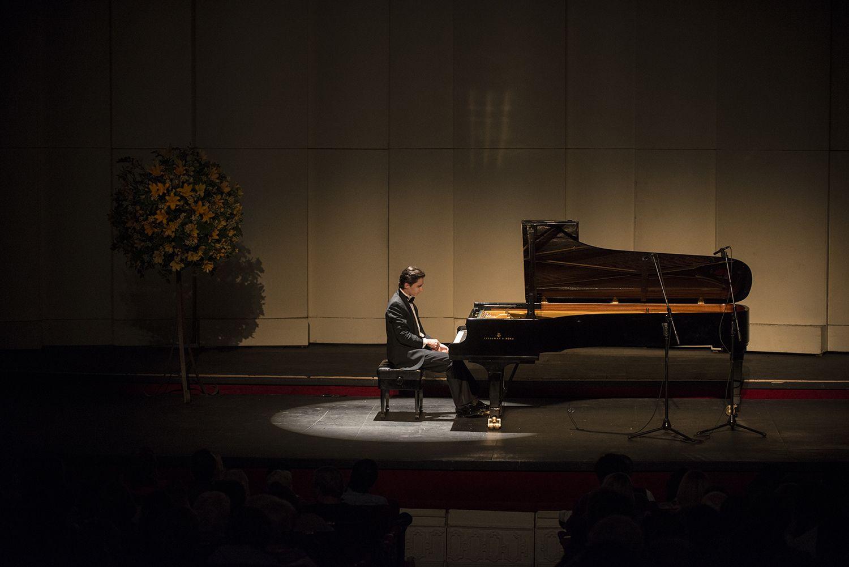 Pianista Alexander Romanovsky. Foto: Patricio Melo