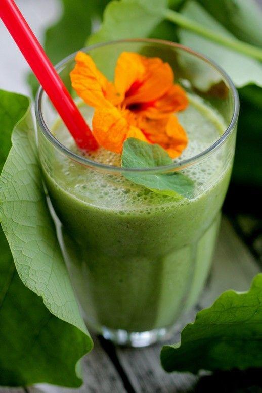 Zelené smoothie z kapucínky
