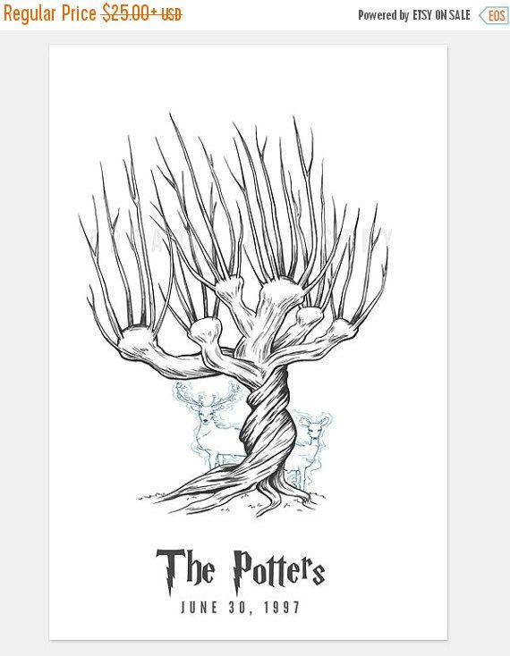 ON SALE Harry Potter Wedding Whomping Willow By ArcadiaArtistry