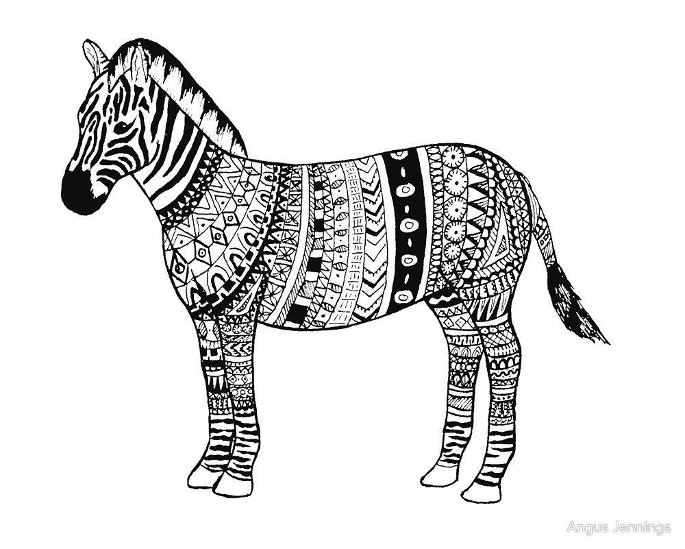 Pin By Barbara On Coloring Horse Zebra Zebras Zebra Large Animals [ 801 x 1000 Pixel ]