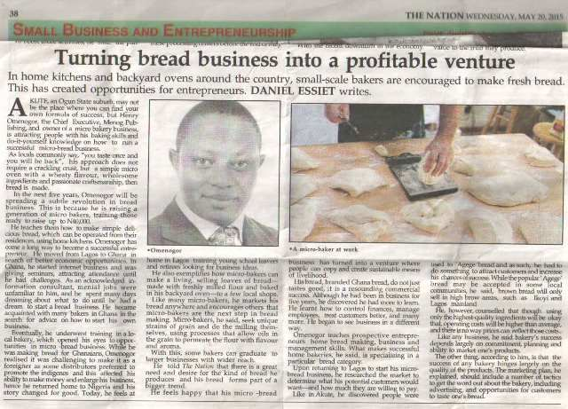 Bread Bakery Business Plan In Nigeria Pdf  Going By The High