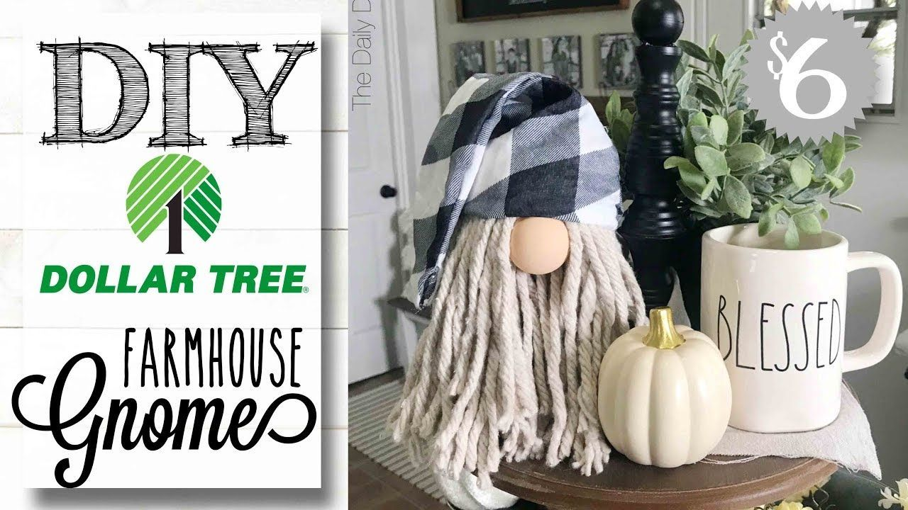 DIY Dollar Tree Gnome ONLY 6 TO MAKE! YouTube