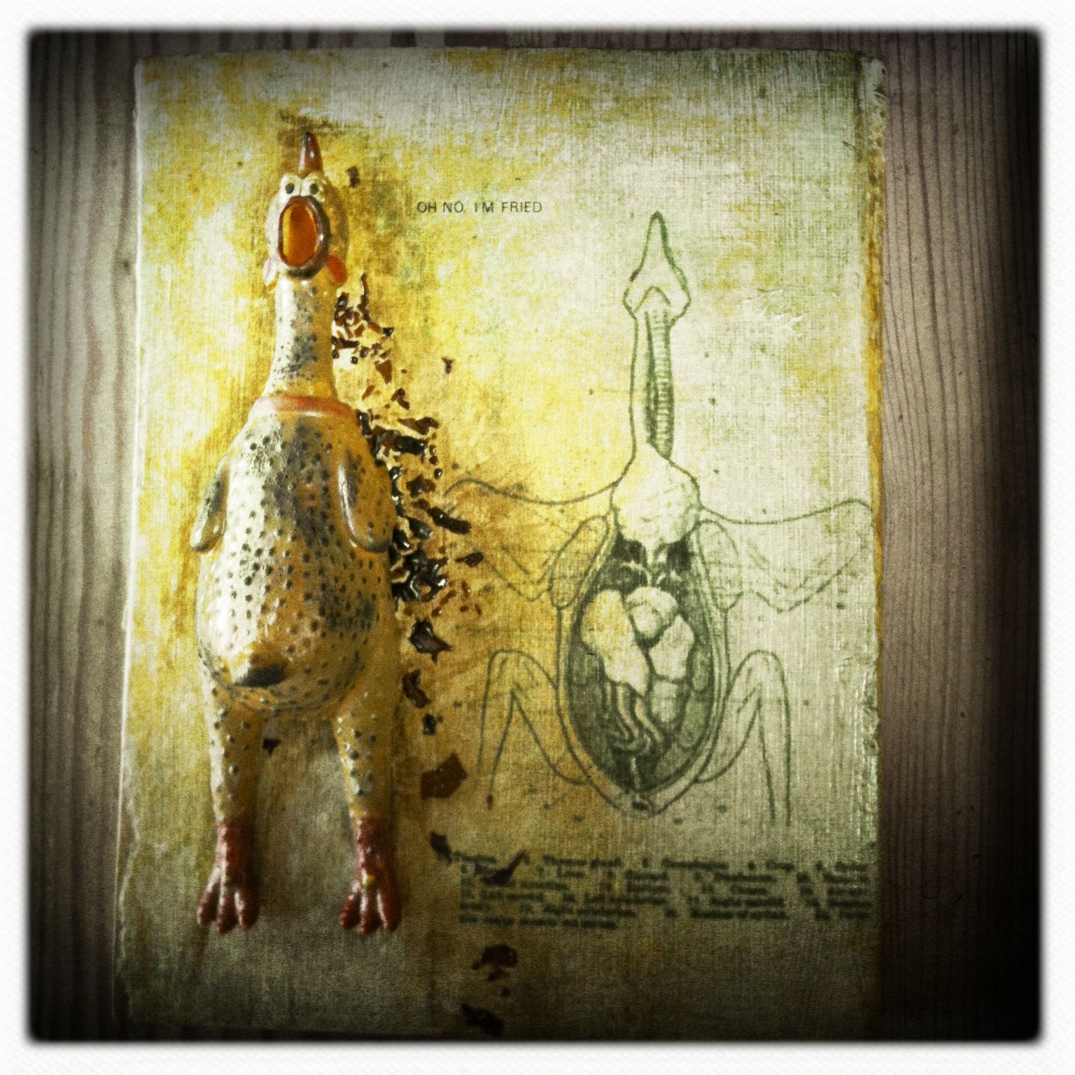 Malle Sien | Mixed media wall art. | Made/decorated/photographed by ...