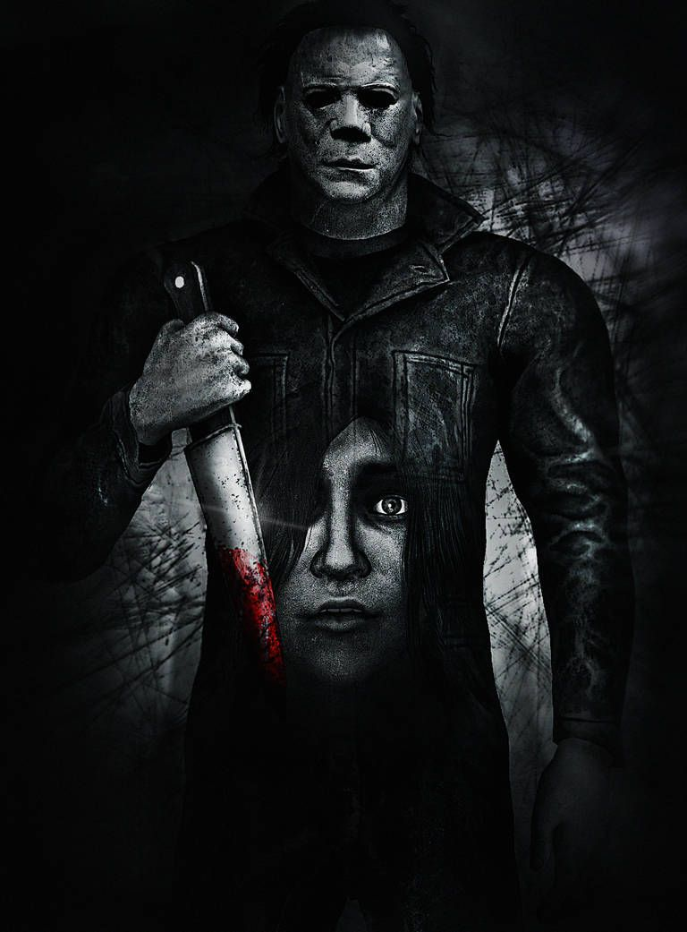 Laurie Strode And Michael Myers by LemurfotArt Игры