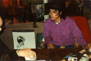 MJ And Art #michaeljackson