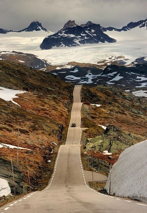 Places i must see #20: Roller Coaster Road-Sognefjellet, Norway