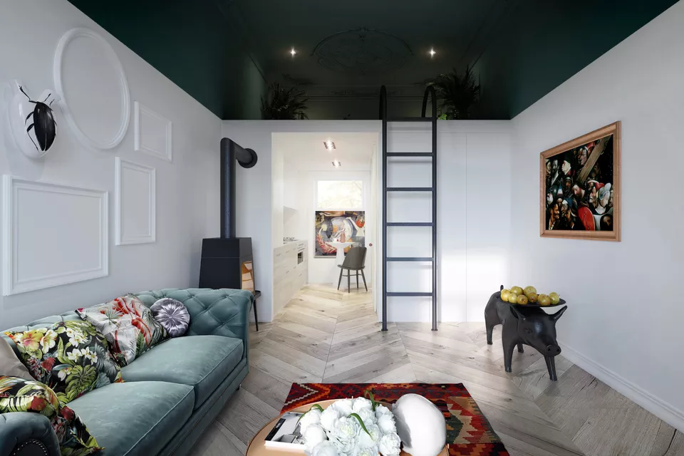 25 Adult Loft Bed Ideas For Small Rooms And Apartments Studio